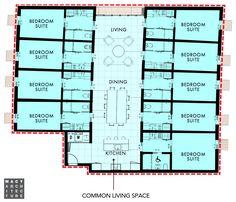 25 Co Living Ideas Hostels Design Co Housing Art Studio Room