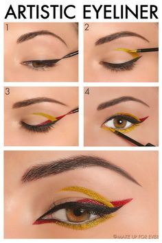 Easy DIY instructions to get salon-style eye makeup looks at home!
