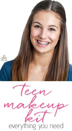 A Makeup Intro: What I Think Teens Should Start With In A Basic Makeup Kit via @15 Minute Beauty