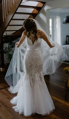 elegant sweetheart mermiad lace bridal dress with sash, bodycon mermiad lace wedding party dress with sweep train