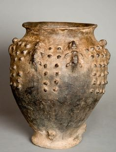 Africa | Vessel for palm wine and grain.   Mfunte, Mambila - Nigera, Cameroon
