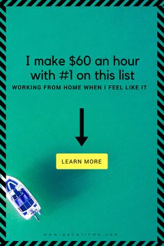 Make easy money online testing websites and apps. It's fun and makes me a ton of extra cash each month.