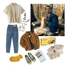 """""""Stranger Eleven"""" by ancillla on Polyvore featuring Polder и Converse"""