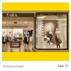 Vitrine criativa loja Zara