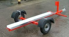 Image result for building a motorcycle trailer