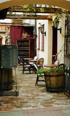 ysvoice:    | ♕ | Wine Bistro in Tallinn| by © Kseniya Segina