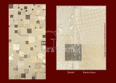This carpet in cow leather is manufactured in Italy with Italian select leather. It is a patchwork workmanship that allows to get the carpet...