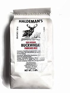 Haldeman's Self-rising Buckwheat Pancake Mix, 32 Oz. (2 Lb.) Package >>> Haven't you heard that you can find more discounts at this image link : Baking supplies
