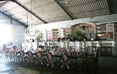 Interior bar at The Grand Cape town. Restaurant and Bar in former boat house/ warehouse. Beach Bars, Cape Town, Boat House, Places, Bar Ideas, Travel Ideas, Warehouse, South Africa, Wedding Venues