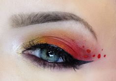 would love to do for catching fire..haha ..if I wore makeup on a regular basis...lol