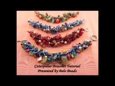 Caterpillar Bracelet Tutorial - Step by Step Instructions - Great way to...