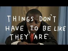 """What if the dude who invented deodorant never said, 'You know, maybe we don't have to smell like ponies'?"" Kid President Has a Dream! - YouTube"