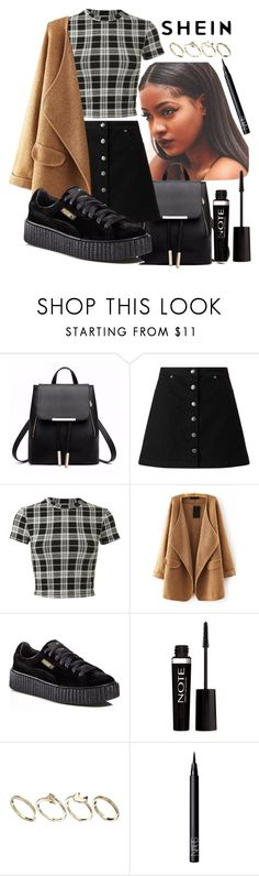 """""""Untitled #625"""" by the-fashion-fantasy ❤ liked on Polyvore featuring Miss Selfridge, Puma, Forever 21, ASOS and NARS Cosmetics"""