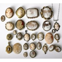 collection of cameos ...
