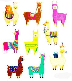 Llama Stickers 2 sheets - 9 stickers per sheet Create - Decorate - Everyday Use Please feel free to convo me with any questions Happy to ship internationally - please ask for shipping rates Alpacas, Scrapbook Stickers, Scrapbook Paper Crafts, Planner Stickers, Scrapbooking, Llamas Animal, Cuadros Diy, Llama Birthday, Cute Journals