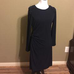 "Michael Kors dress Elegant drees with side zipper accent 34""length new with tags Michael Kors Dresses Midi"
