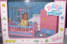ZAPF BABY BORN MINIWORLD -  NIGHT TIME SET**MIB**