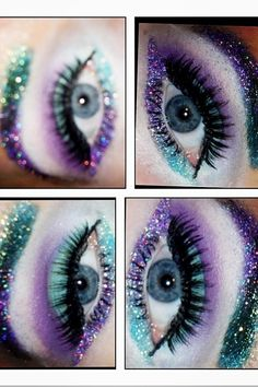 purples my green eye