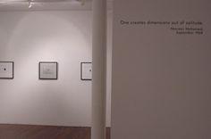 Nasreen Mohamedi, Photoworks, exhibition view, Talwar Gallery New York, 2003