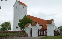Helgenæs Church (Stødov), Mols, Randers amt, Denmark.
