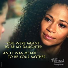 """S4 Ep9 """"New York"""" - """"You and your brother have brought me the greatest joy."""" #TheFosters"""