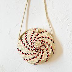 Bolso hecho a mano de palmito