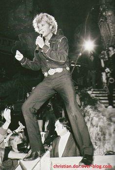Johnny Hallyday palais des sports paris 1982
