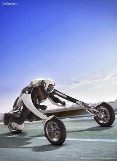 Tricycle | Inverted Motorcycle