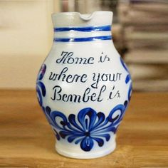 Home is where your Bembel is