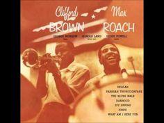 "♫♪♬ Clifford Brown & Max Roach - ""Jordu"" - Clifford Brown and Max Roach (1954) Personnel: Clifford Brown (Trumpet) Harold Land (Tenor Saxophone) George Morrow (Bass) Richie Powell (Piano) Max Roach (Drums) - YouTube"