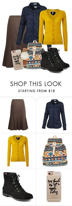"""""""{f a l l • f a s h i o n}"""" by loisanne ❤ liked on Polyvore featuring CC, Fat Face, White Stuff, Fantasia, Sperry, Casetify and Kate Spade"""