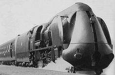The future is streamlined locomotives, welcome to the 1930s