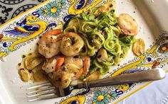 Shrimp Scampi with Zucchini Pasta