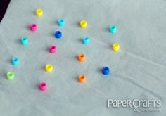 DIY Enamel Dots from Betsy Veldman - Paper Crafts & Scrapbooking blog