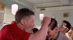 You're George McFly! Scene from Back to the Future Movie (1985) | MOVIECLIPS - Use to identify character traits