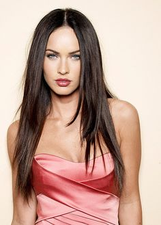 "Megan Fox - once again Megan with a look just like the character Sharon from ""Get Emily"": http://www.bookdepository.co.uk/Get-Emily-Ross-Lloyd/9781490505152"