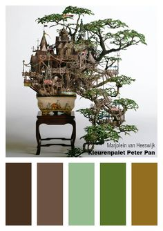 "Color palette ""Peter Pan"""