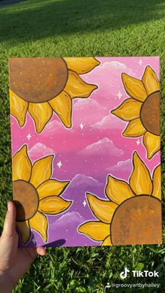 Small Canvas Paintings, Small Canvas Art, Mini Canvas Art, Hippie Painting, Trippy Painting, Arte Indie, Psychedelic Drawings, Hippie Art, Cool Art Drawings