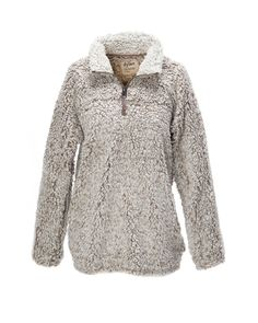 Dylan by True Grit - Women's Frosty Tipped Pile Zip Pullover
