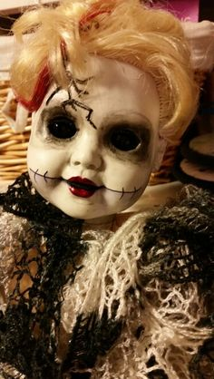 Love my creepy baby doll. First one I ever tried...she was a success!