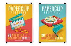 Paperclip Festival - Niet Te Filmen on Behance