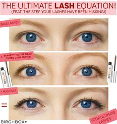 The ultimate lash look - the product you've been missing to give your lashes that WOW factor! Find out more at blog.birchbox.co.uk