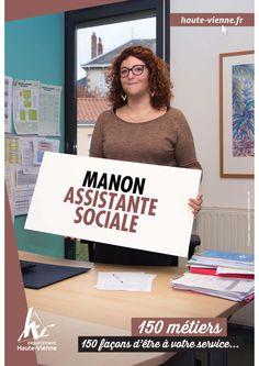 Manon, assistante sociale à la MDD de Saint-Junien. Aide à l'insertion sociale et professionnelle, actions de prévention, aide dans les démarches administratives… Les assistants sociaux présents dans les MDD sont là pour épauler les haut-viennois en difficulté.