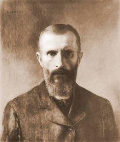 Aleksander Gierymski, Self-portrait, 1900 on ArtStack #aleksander-gierymski #art