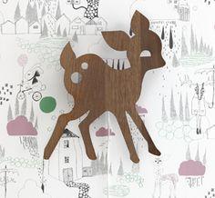 Papier peint en rouleau chambre enfant In the Rain Ferm Living