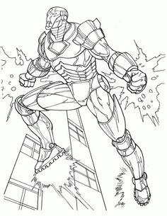 14 Best Ironman Images Superhero Coloring Pages Superhero