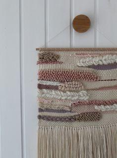 Wanddeko - Handgewebter Wandteppich || EMILIA - ein Designerstück von mapeela bei DaWanda
