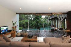 Discover the Art of Tropical Living at Paya-Paya Villa, Bali #architecture #interiors #living room