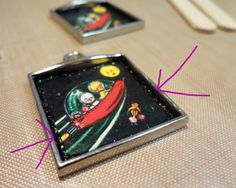I LOVE RESIN: Fly Me To The Moon Bezels