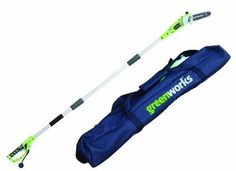 Pole Chain Saw Corded Electric Green Power Chainsaw with Carry Case Trimmer New
